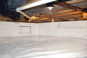 Crawl Space Repair After in Danbury
