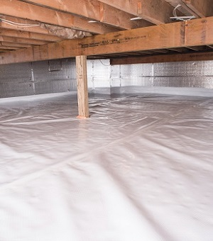 Crawl Space Insulation With Silverglo In New York Crawl