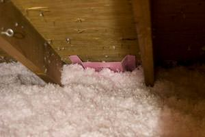 New Insulation installed in Stratford attic