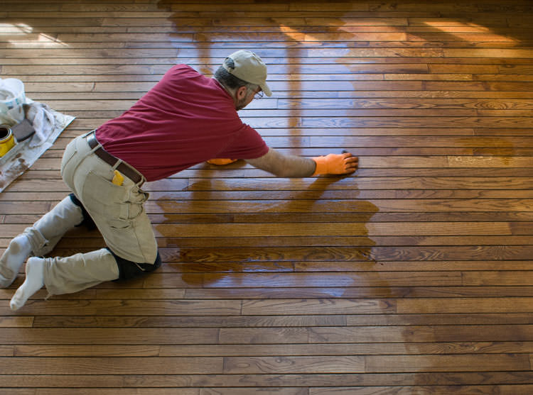 A New City installation of hardwood flooring. - Warped Wood Floor Problems In New Rochelle, Danbury, And Paterson